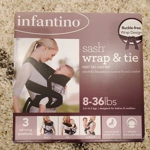 Other - Infantino Sash Wrap and Tie Baby Carrier